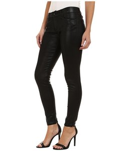 JOE'S Jeans Ankle Vixen Leather Skinny Jeans-Coated
