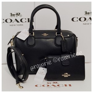 Coach Leather Gift Set Cross Body Bag