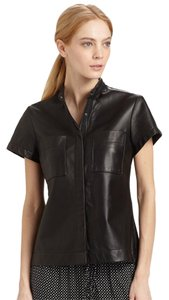 Rag & Bone Vince Helmut Lang Alexander Wang Iro Tibi Button Down Shirt Black