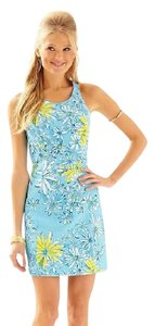 Lilly Pulitzer short dress Blue Daisy on Tradesy