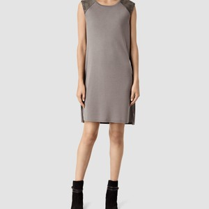 AllSaints short dress Cement on Tradesy