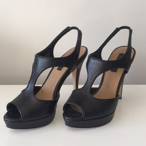 Ann Taylor Black Platforms