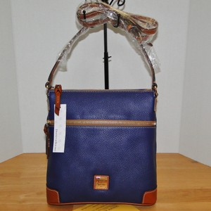 Dooney & Bourke Leather Lined Pebble Cross Body Bag