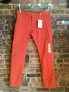Dockers Men Nwt Khaki/Chino Pants Pumpkin orange
