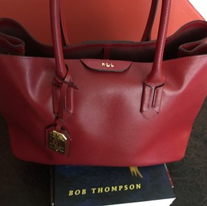 Lauren Ralph Lauren Tote in Red