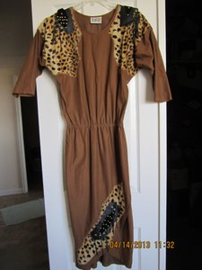 Jungle Exotic African Inspired Dress