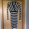 INC International Concepts short dress Black/White on Tradesy