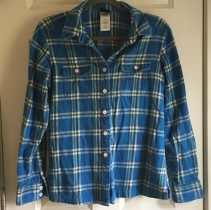 Patagonia Button Down Shirt Blue