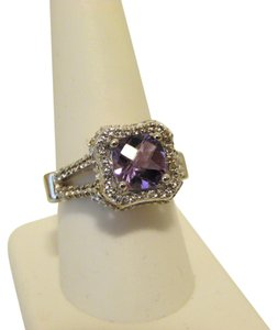 Victoria Wieck Victoria Wieck Amethyst Gemstone Ruby and Topaz Accent 9