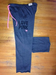 PINK Vs Sweats Boyfriend Athletic Pants Charcoal Gray