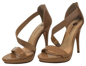 Michael Antonio Patent High Heel Nude Formal