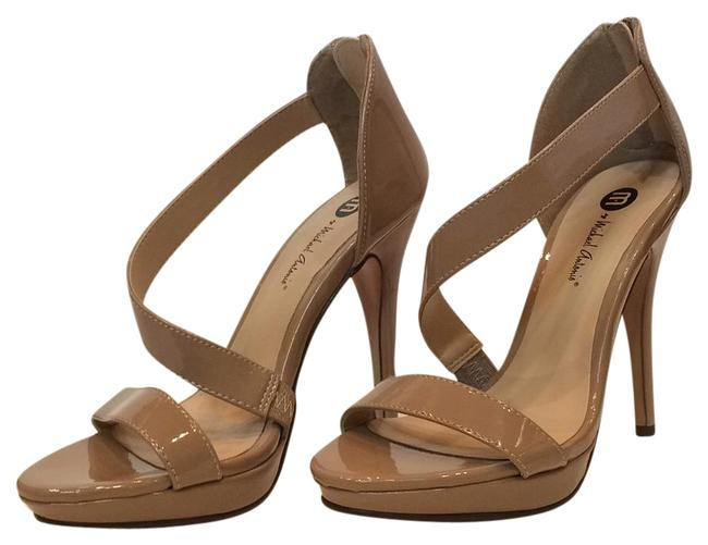 Item - Nude Patent Stiletto By Formal Shoes Size US 7 Regular (M, B)