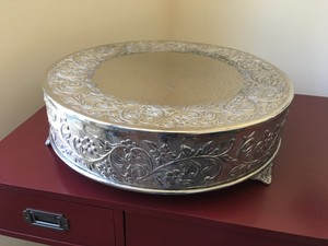 Metal Cake Stand 18 In.