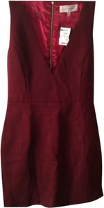 Akira short dress Wine on Tradesy