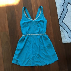Quiksilver short dress Turquoise on Tradesy