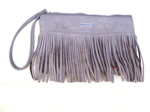 Hollister Taupe Clutch