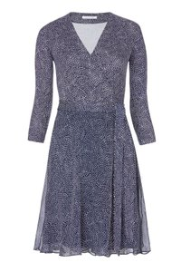 Diane von Furstenberg Wrap Flirty Jersey Silk Dress