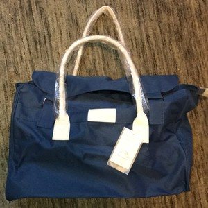 Helen Barr for Bloomingdales Blue Travel Bag