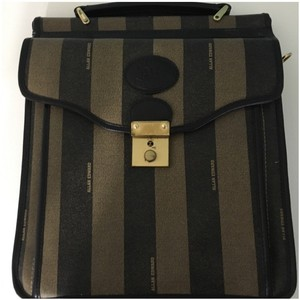 Allan Edward Tote in Black And Brown