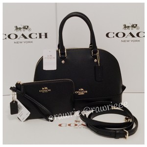 Coach Dome Leather Gift Set Cross Body Bag