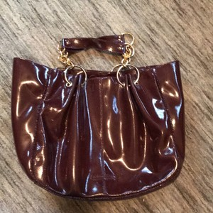 BCBGMAXAZRIA Satchel in Plum