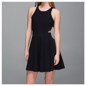 Lululemon short dress BLACK on Tradesy