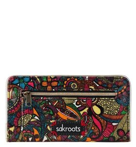 Sakroots NWT!! Rainbow Spirit Desert Multicolor Slim Wallet Artist Circle