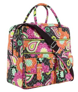 Vera Bradley Ziggy Zinnia Travel Bag
