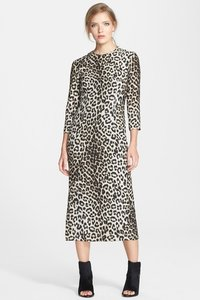 Rag & Bone & Silk Leopard Midi Dress