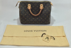 Louis Vuitton Speedy 30 Tote in Monogram Canvas