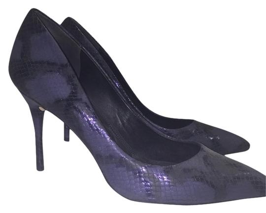 B Brian Atwood Snakeskin Pumps
