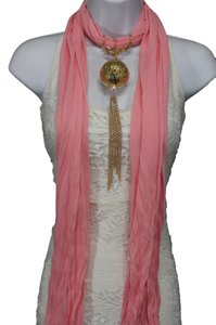 Long Scarf Pink Blue Green Purple Lavender Christmas Ornement Pendant