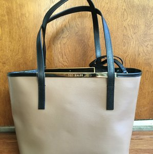 Ted Baker Tote in Black And Mink