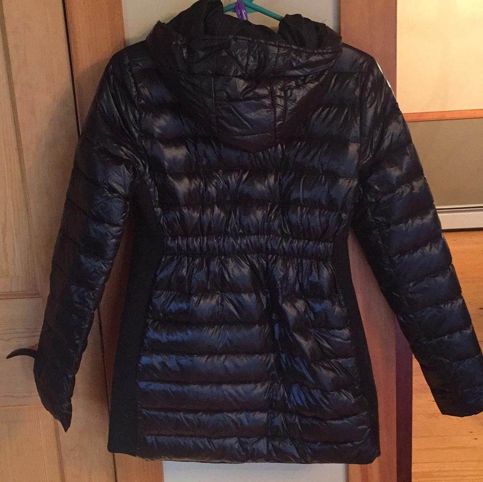 e4bb93a1802 Séraphine Black Down Puffer Jacket Maternity Outerwear Size 4 (S, 27 ...