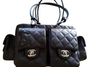 Chanel Reporter Cambon Quilted Shoulder Bag