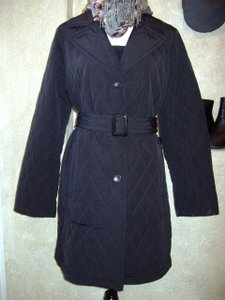 Talbots Trench Quilted Trench Coat