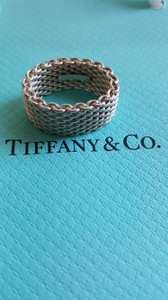 Tiffany & Co. Somerset Wide Mesh Ring