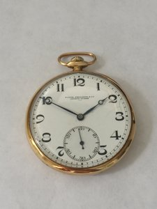 Patek Philippe Vintage Patek Philippe 18kt Yellow Gold Pocket Watch