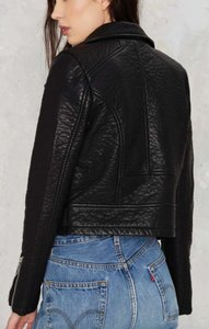 Nasty Gal Leather Leather Jacket