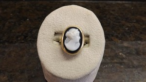 Antique Cameo Ring Beautiful Antique 10k Gold Cameo Ring