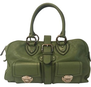 Marc Jacobs Venetian Great Satchel in Green