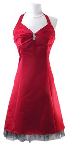 Other short dress Red Cocktail on Tradesy