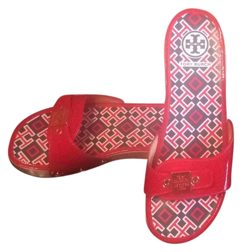 Tory Burch Red 32088606 602 32088606 Red Mules/Slides 96873d