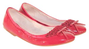 Bloch Ballet Leather Magenta Flats
