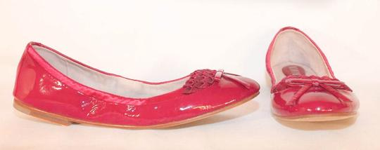 Bloch Ballet Patent Leather Magenta Flats