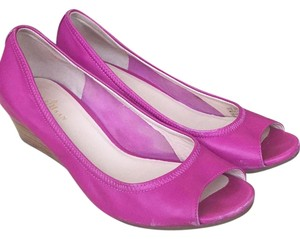 Cole Haan Hot pink Wedges