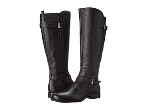 Naturalizer Ww Leather Knee High Black Boots