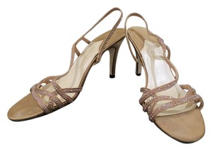Caparros Wedding Sandals Sparkle Gold Formal