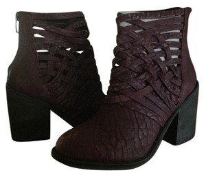 Free People Ankle Boot Wine Boots