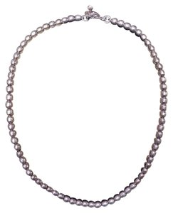 Other Sterling silver beaded necklace